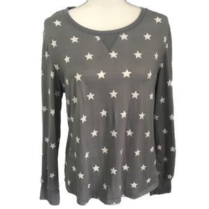 NEW Lovers + Friends Star Pullover Crew Sweater M